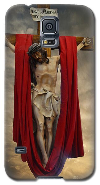 His Ultimate Gift Of Mercy - Jesus Christ Galaxy S5 Case by Luther Fine Art