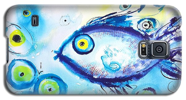 Good Luck Fish Abstract Galaxy S5 Case