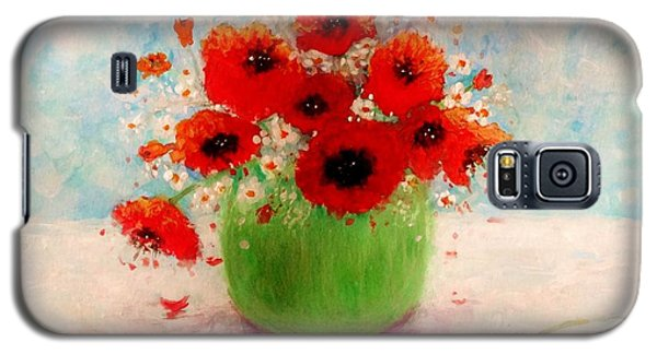 Galaxy S5 Case featuring the painting Good Morning.. by Cristina Mihailescu