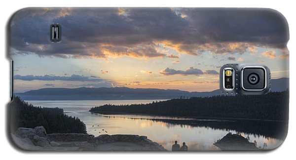 Galaxy S5 Case featuring the photograph Good Morning Emerald Bay by Peter Thoeny