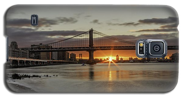 Galaxy S5 Case featuring the photograph Good Morning Nyc  by Anthony Fields
