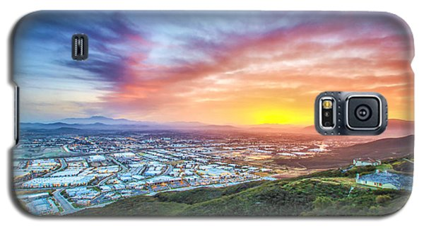 Galaxy S5 Case featuring the photograph Good Morning Temecula by Robert  Aycock