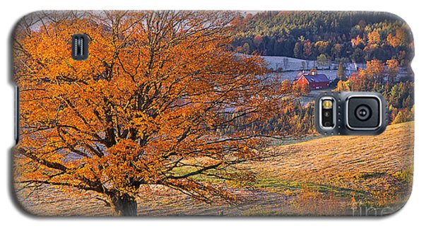 Good Morning Vermont Galaxy S5 Case by Alan L Graham