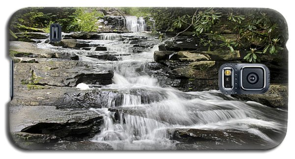 Goose Creek Falls Galaxy S5 Case by Robert Camp