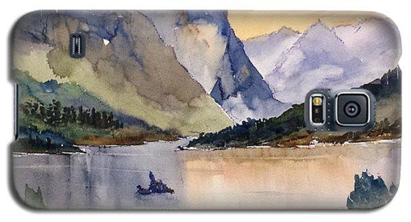 Goose Island Glacier National  Park Galaxy S5 Case