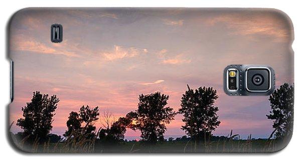 Goose Lake Prairie Sunset Galaxy S5 Case