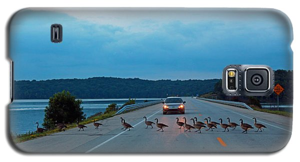 Goose Rush Hour Galaxy S5 Case