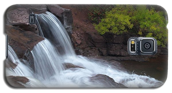 Galaxy S5 Case featuring the photograph Gooseberry Falls In Slow Motion by James Peterson