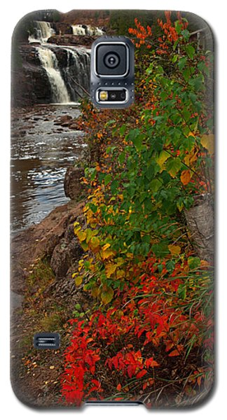 Gooseberry Foilage Galaxy S5 Case by James Peterson
