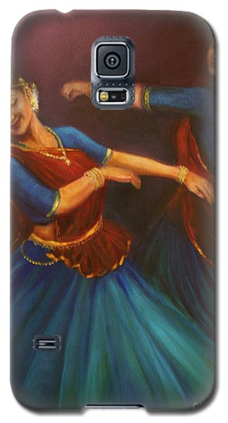 Gopis Dancing To The Flute Of Krishna Galaxy S5 Case