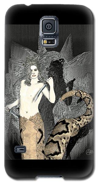 Gorgon Galaxy S5 Case - Male Medusa  by Quim Abella