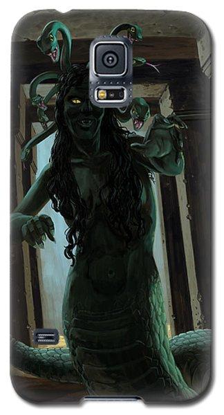 Gorgon Medusa Galaxy S5 Case by Martin Davey