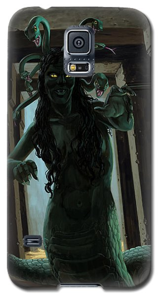 Gorgon Galaxy S5 Case - Gorgon Medusa by Martin Davey