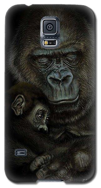 Gorilla Galaxy S5 Case - Gorilla  by Andre Koekemoer