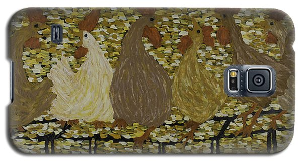 Gossiping Chickens Galaxy S5 Case