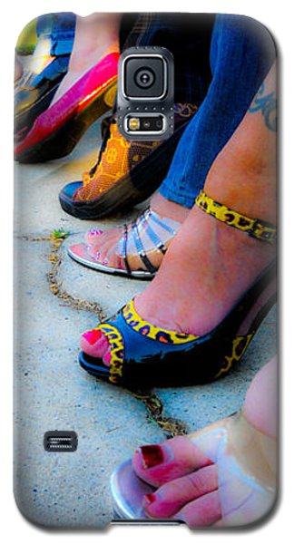Galaxy S5 Case featuring the photograph Got Shoes by Kristen R Kennedy