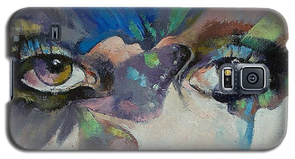 Butterfly Galaxy S5 Case - Gothic Butterflies by Michael Creese