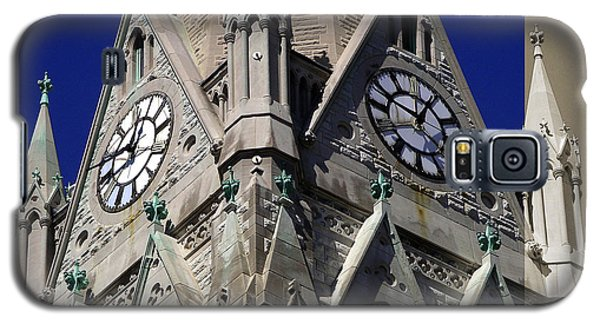 Gothic Church Clock Tower Spire Galaxy S5 Case
