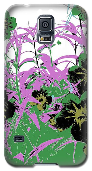 Gothic Garden Green Galaxy S5 Case