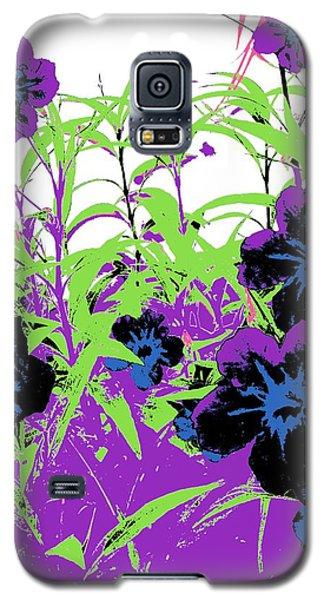 Gothic Garden Orchid Galaxy S5 Case