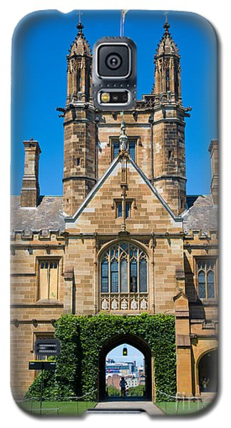 Gothic Tower And Entrance Of Sydney University Galaxy S5 Case
