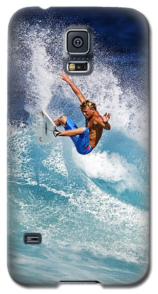 Gouging The Wave  C6j0694 Galaxy S5 Case