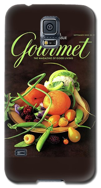 Gourmet Cover Featuring A Variety Of Fruit Galaxy S5 Case by Romulo Yanes
