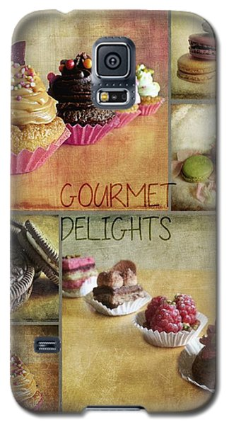 Gourmet Delights - Collage Galaxy S5 Case by Barbara Orenya