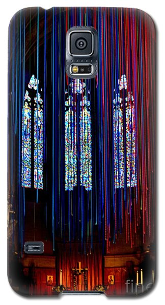 Grace Cathedral With Ribbons Galaxy S5 Case by Dean Ferreira