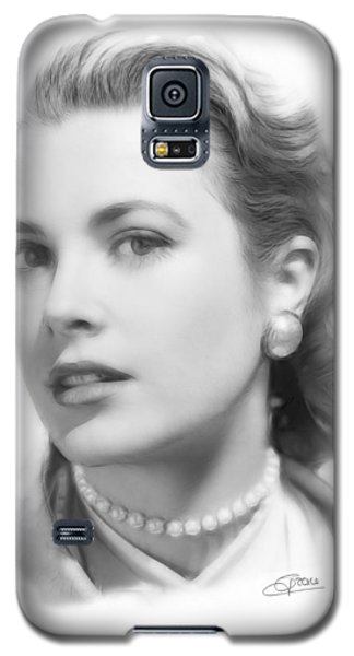Grace Kelly Pencil Galaxy S5 Case by Steve K