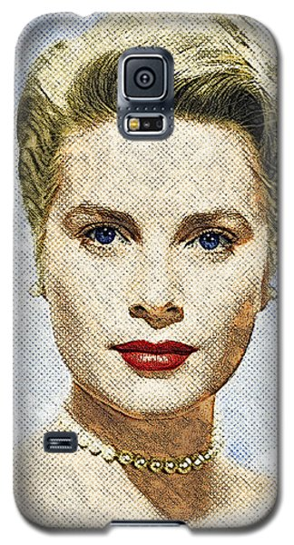 Grace Kelly Galaxy S5 Case by Taylan Apukovska