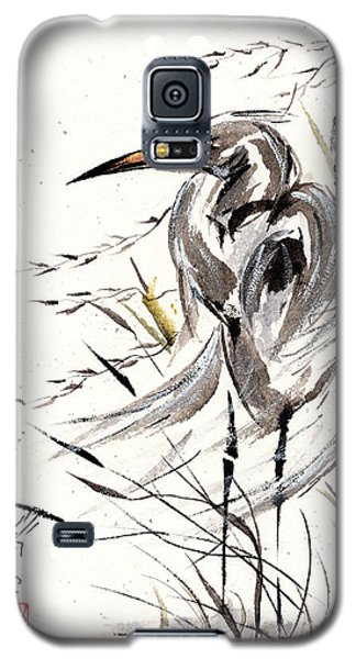 Galaxy S5 Case featuring the painting Grace Of Solitude by Bill Searle