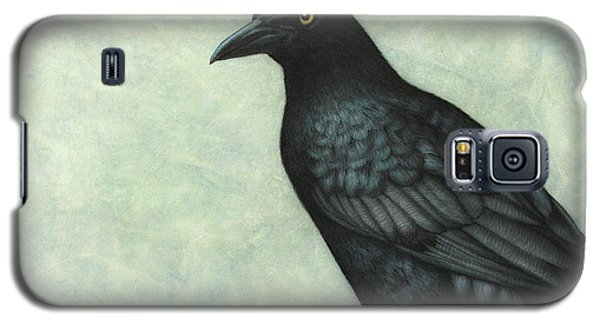 Grackle Galaxy S5 Case by James W Johnson