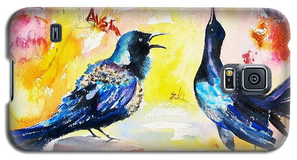 Grackles And Graffiti  Galaxy S5 Case