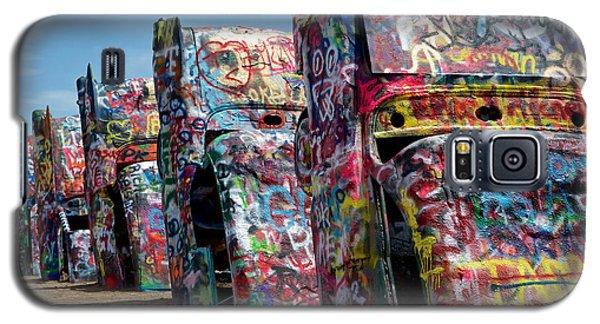 Graffiti At The Cadillac Ranch Amarillo Texas Galaxy S5 Case