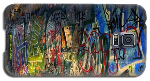 Graffiti Blues Galaxy S5 Case