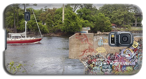 Graffiti Bridge Image Art Galaxy S5 Case