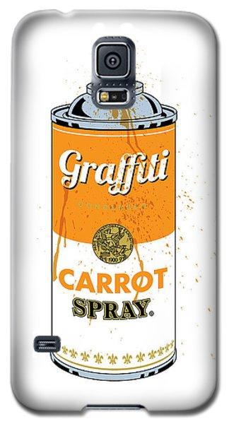 Graffiti Carrot Spray Can Galaxy S5 Case
