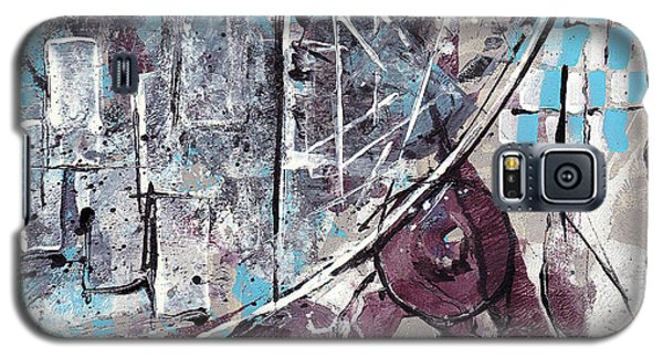 Galaxy S5 Case featuring the painting Graffiti Gumbo by Buck Buchheister