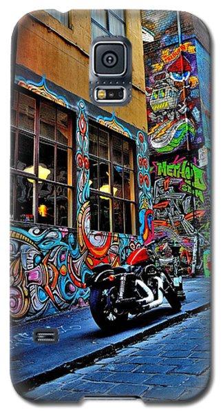 Graffiti Harley Shoes - Melbourne - Australia Galaxy S5 Case