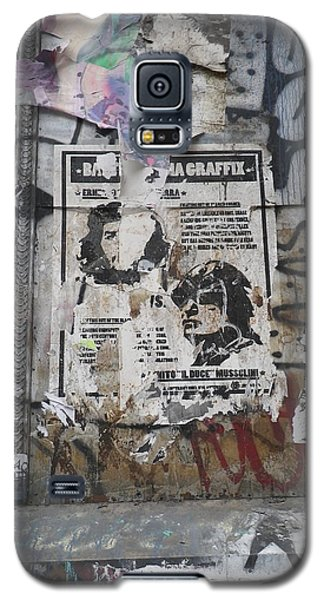 Graffiti In New York City Che Guevara Mussolini  Galaxy S5 Case