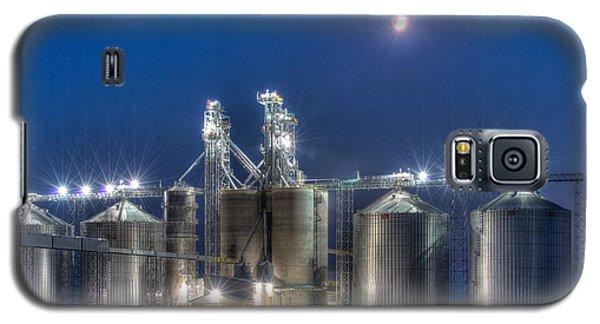Grain Processing Plant Galaxy S5 Case by Paul Freidlund
