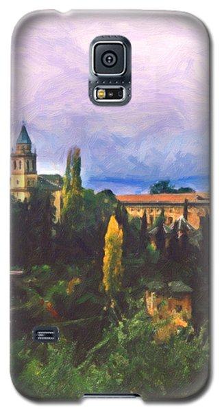 Galaxy S5 Case featuring the digital art Granada Through The Keyhole by Spyder Webb