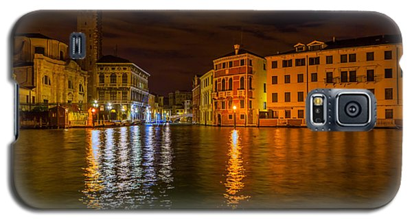 Grand Canal In Venice At Night Galaxy S5 Case