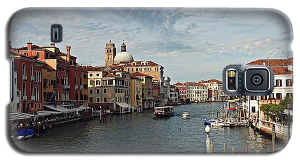 Galaxy S5 Case featuring the photograph Grand Canal In Venice by Cendrine Marrouat