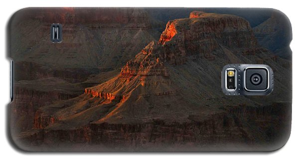 Grand Canyon Alpenglow 3 Galaxy S5 Case by Stephen  Vecchiotti