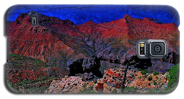 Grand Canyon Beauty Exposed Galaxy S5 Case by Jim Hogg