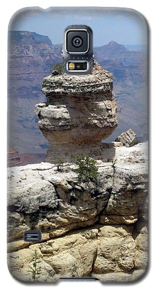 Galaxy S5 Case featuring the photograph Grand Canyon Bluff by Philomena Zito