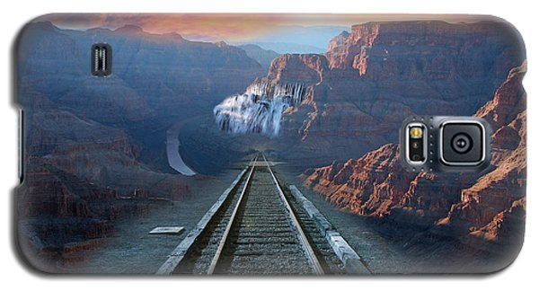 Grand Canyon Collage Galaxy S5 Case