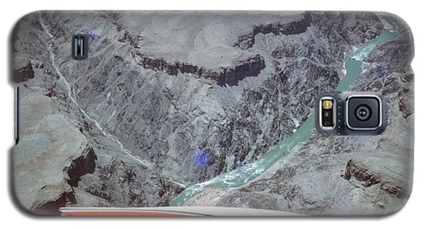 Galaxy S5 Case featuring the photograph Grand Canyon From The Air by John Mathews